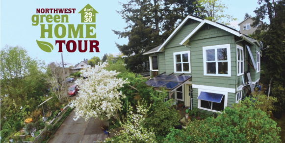 home with green home tour logo