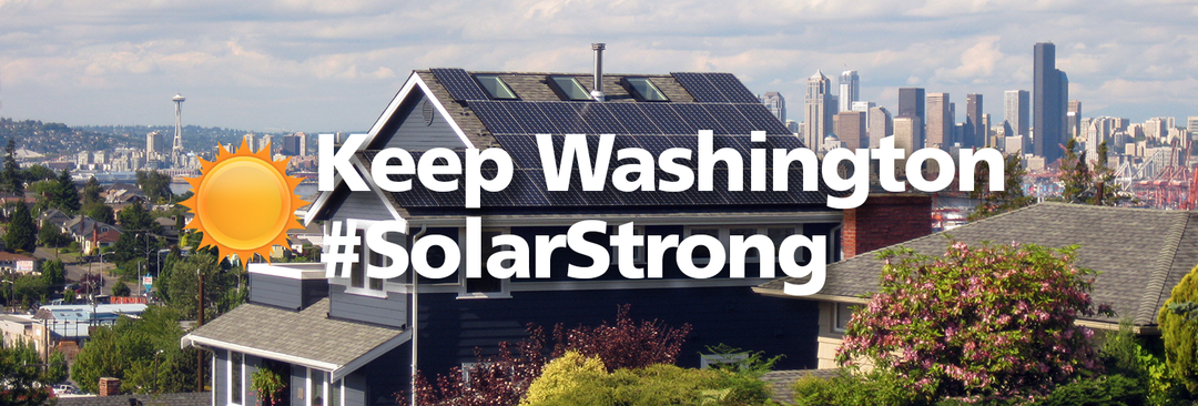Help Keep Solar Growing in Washington