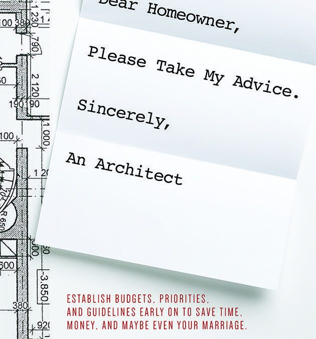 New Book: Remodeling Advice from an Architect