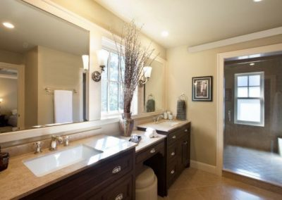 Comfort Cove in bathroom